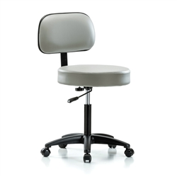 Perch Walter With Basic Backrest Exam Stool Source